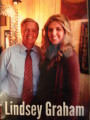Clines Salon Vista | Brittany Cox and US Senator Lindsey Graham | Hair Salon in Columbia SC